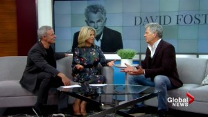 David Foster is embarking on his first-ever Canadian tour